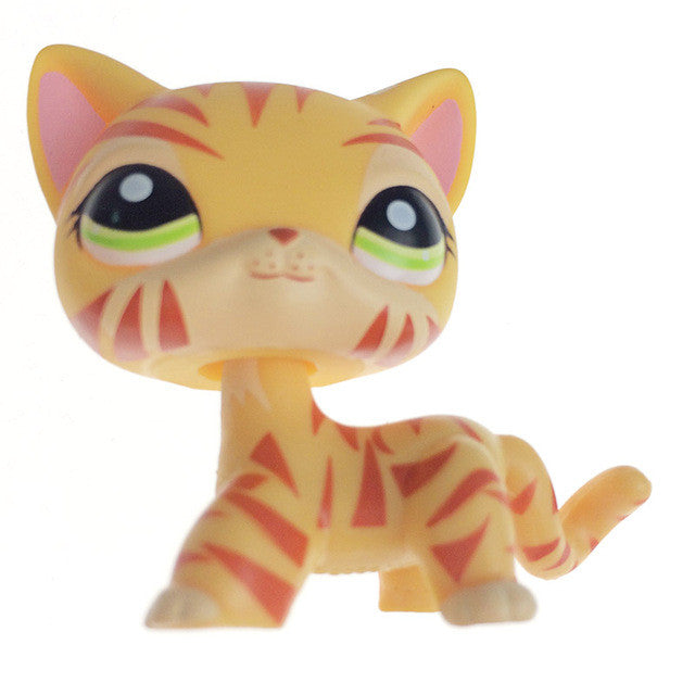 11types 5cm lovely genuine pet collection action figure original lps m supply micro - Petshop tigre ...