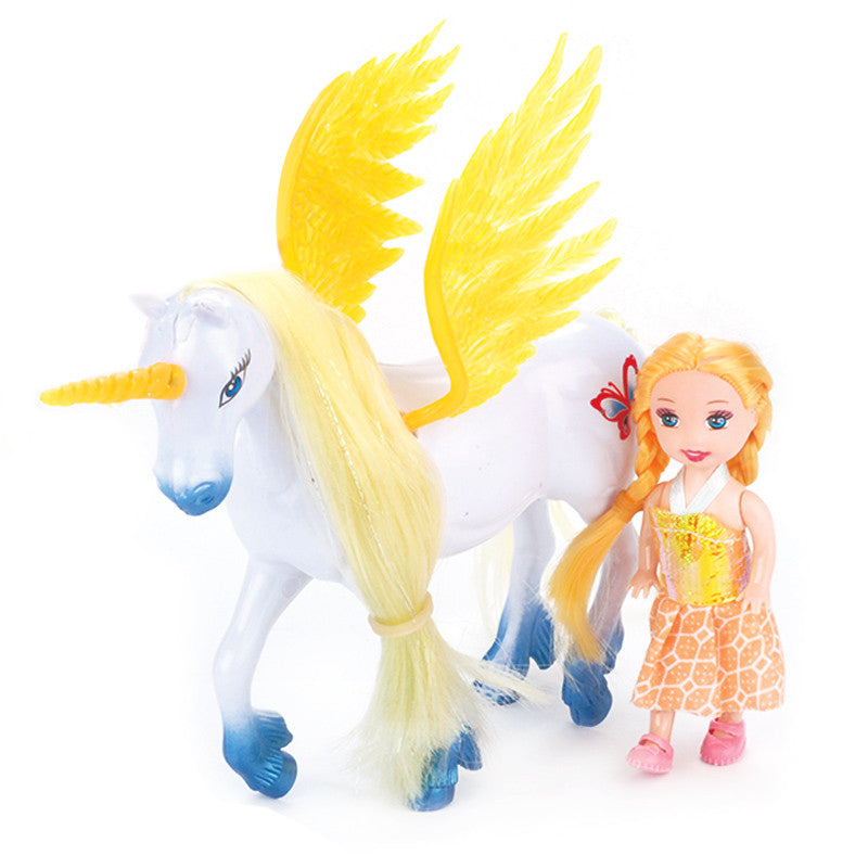 Unicorn New Hot Sale Toddler Dolls And Horse Toys Children Christmas