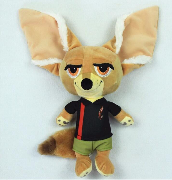 Free Shipping 1pcs Original Zootopia Plush Toy Finnick A Fennec Fox