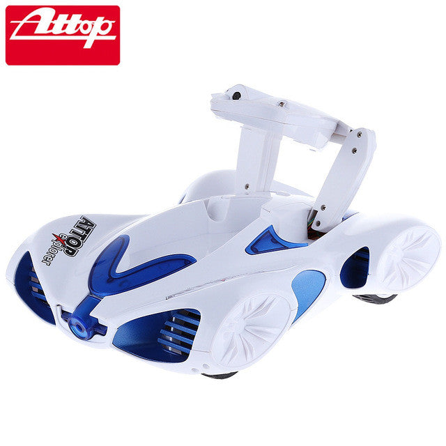 Attop RC Cars App-controlled WiFi Real-time Transmission Spy Remote Control  Vehicle with Camera Support iOS Android Device Gifts