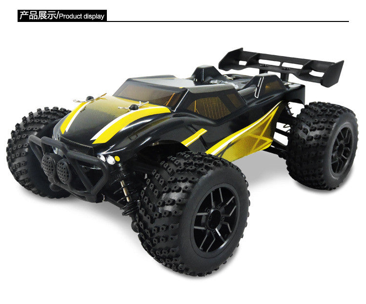 rc car 1 10 scale off road monster truck 4wd remote. Black Bedroom Furniture Sets. Home Design Ideas