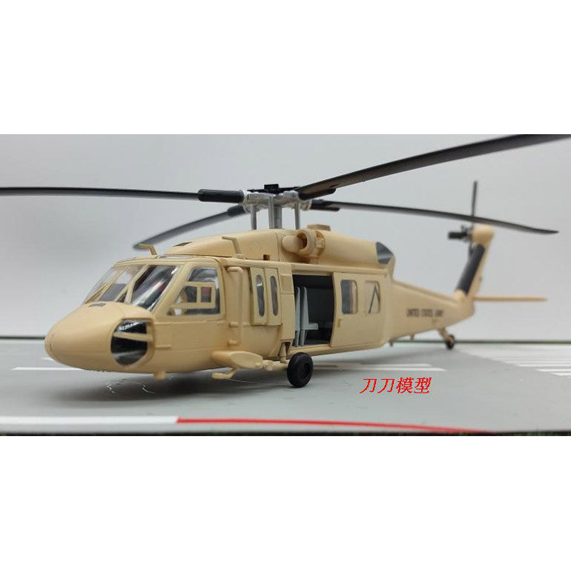 Amer US Air Force UH-60A Blackhawk Sandhawk Helicopter 1/72 Scale Diecast  Finished Model Toy For Collect Gift