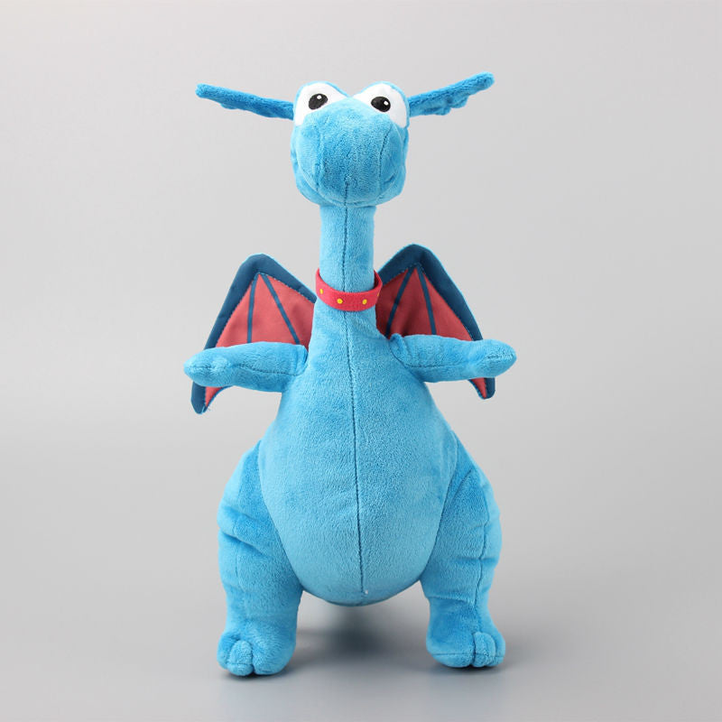 Original Doc Mcstuffins Blue Dragon The Stuffy 35cm Plush Toys Stuffed Animals Soft Dolls Brinquedos Kids Gift