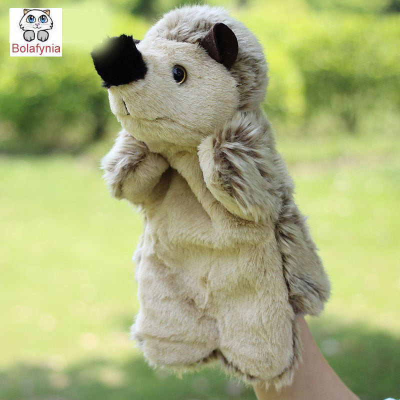 Alert Bolafynia Children Hand Puppet Toys Brown Alpaca Baby Kid Plush Stuffed Toy For Christmas Birthday Gifts Dolls & Stuffed Toys Toys & Hobbies