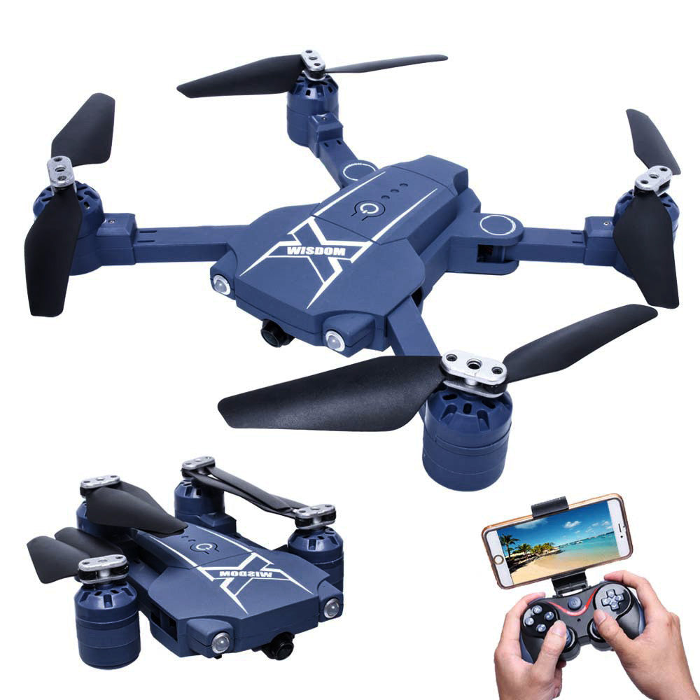 New RC helicopter 2 4G Pocket Drone Mini Foldable RC Drone Quadcopter WiFi  FPV Camera One Key Return Mini Drone RC toy