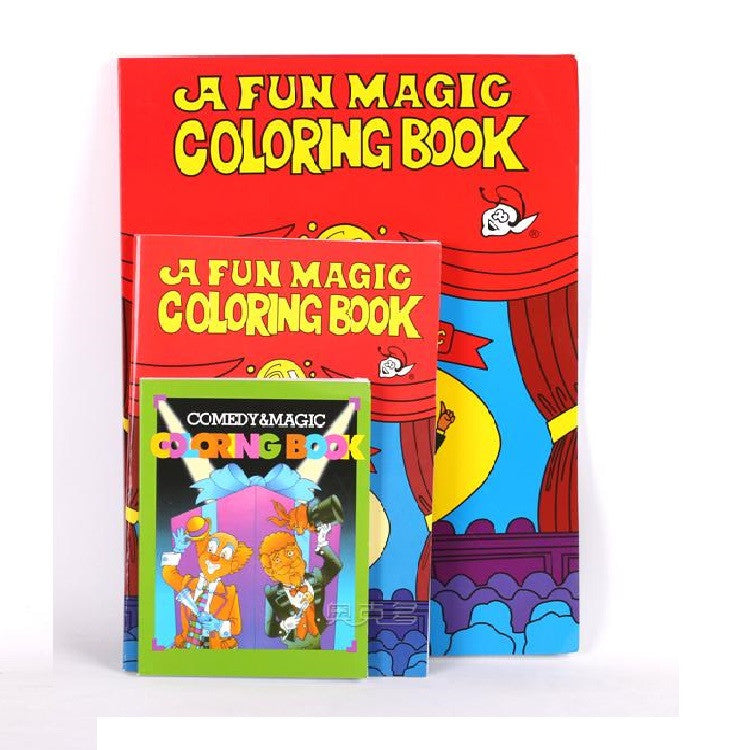 Free Shipping Large Size Funny Coloring Book Comedy Magic Books ...