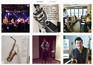 SaxTuition on Instagram!