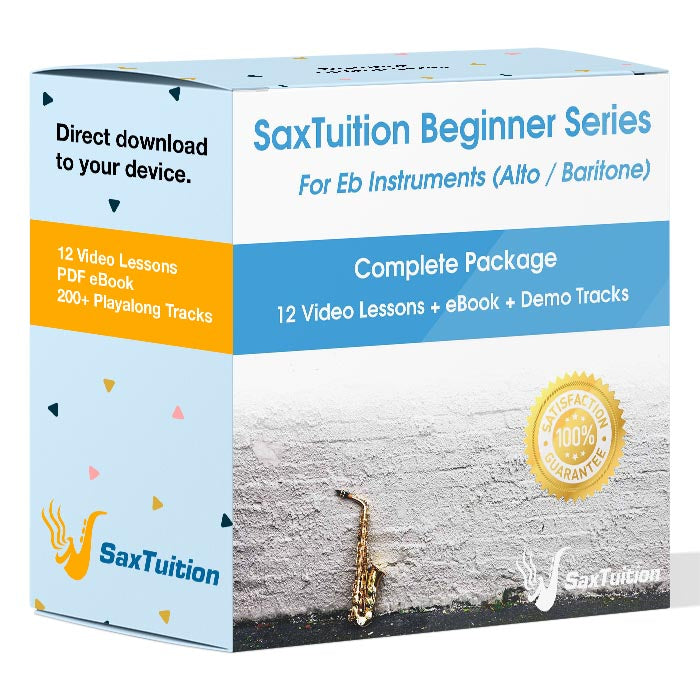 SaxTuition Beginner Series: Alto Saxophone