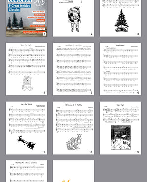Saxophone Christmas Collection eBook - SaxTuition