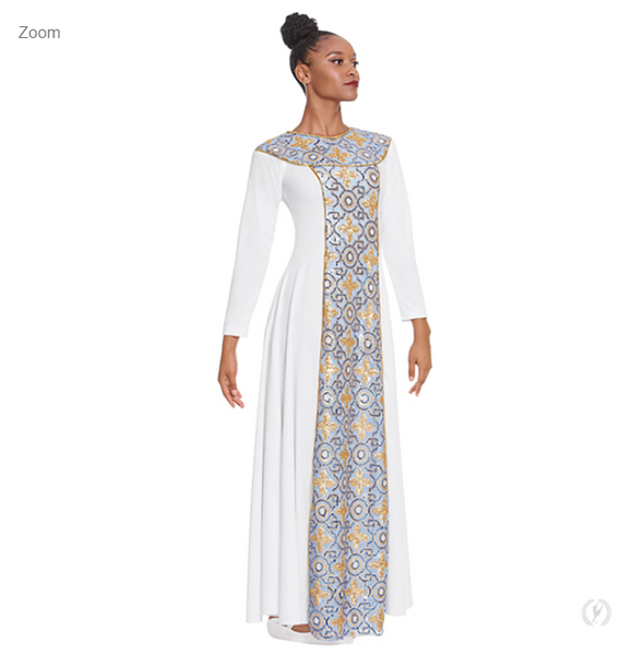81119 - Eurotard Adult Tabernacle Praise Dress