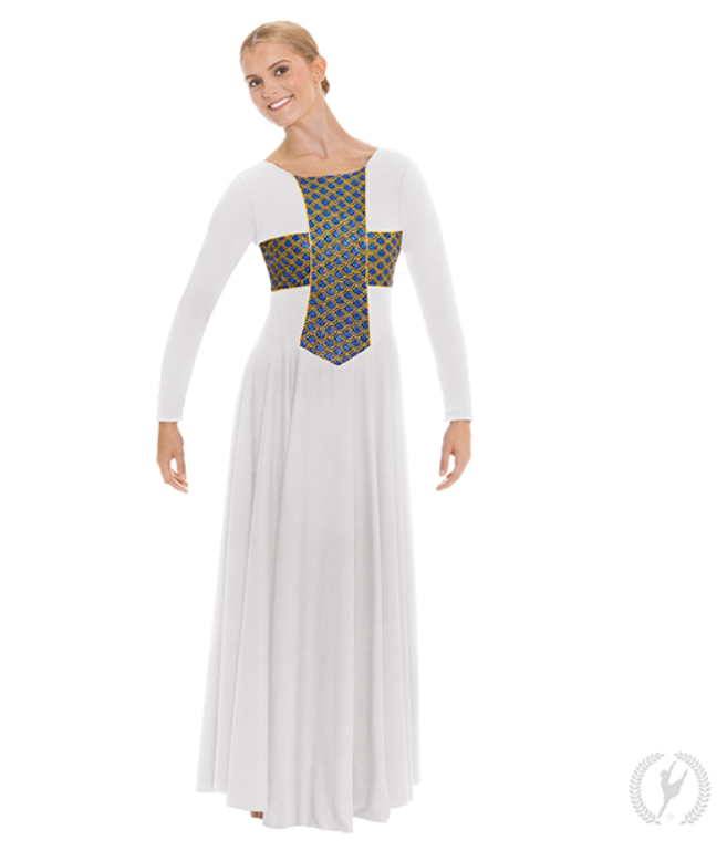 79566 - Eurotard Adult Blessed Grace Praise Dress