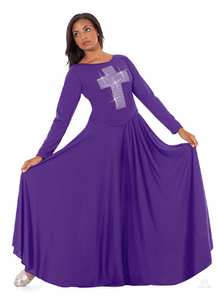 11027 - Eurotard Cross of Light Praise Dress