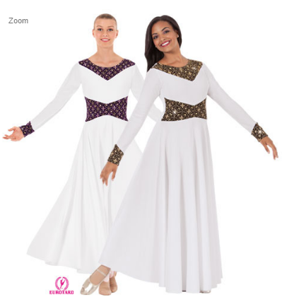 43866 - Eurotard Royalty Dance Dress