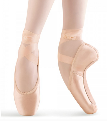 Mirella Whisper Satin Pointe Shoe