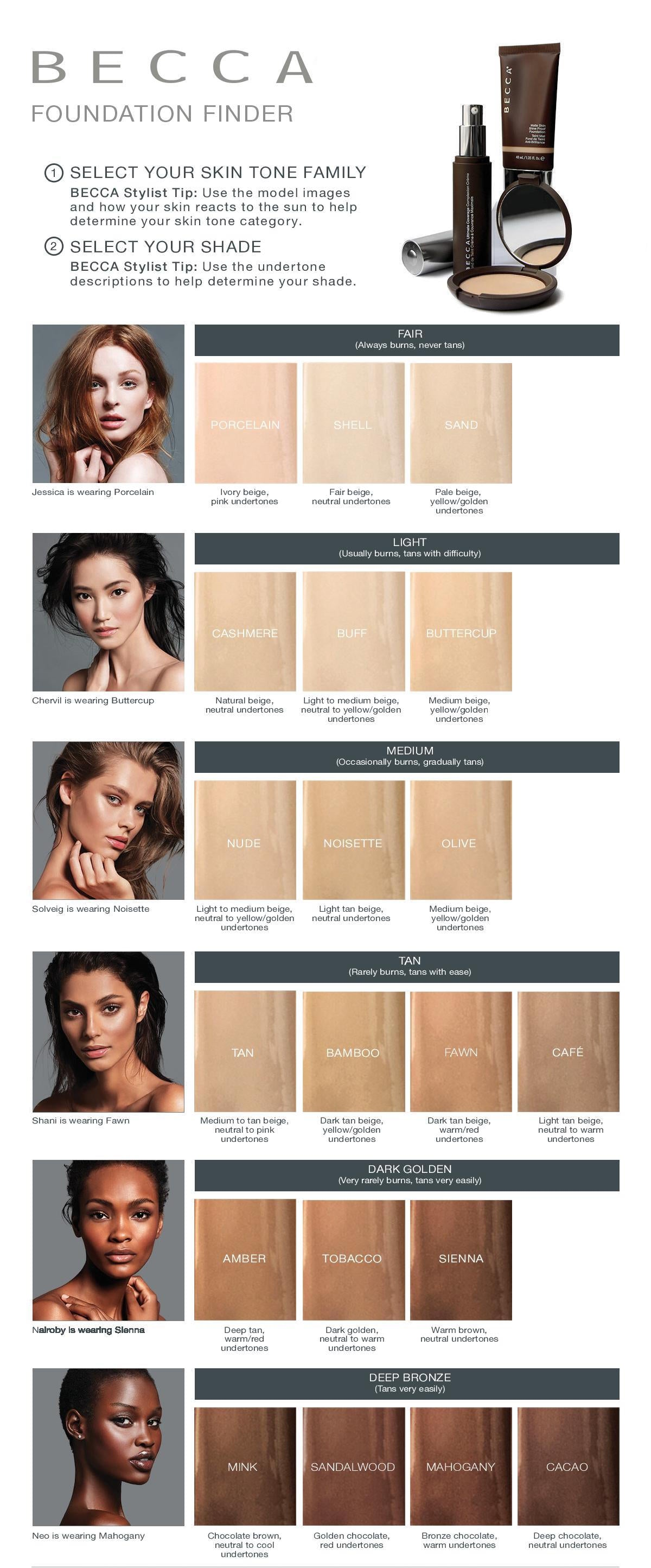 Becca Foundation Finder