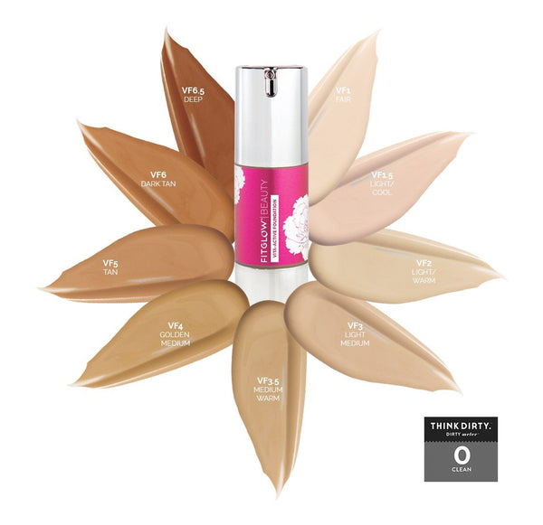 Fitglow Vita-Active Foundation - CULT COSMETICA