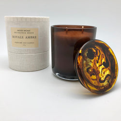 Abode Aroma De la Terre Scented Resin Candle - CULT COSMETICA