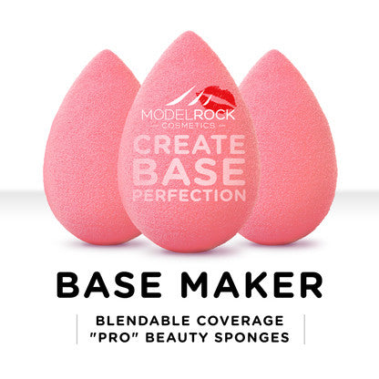 Base Maker Blendable Coverage Pro Beauty Sponge 3 Pack - CULT COSMETICA
