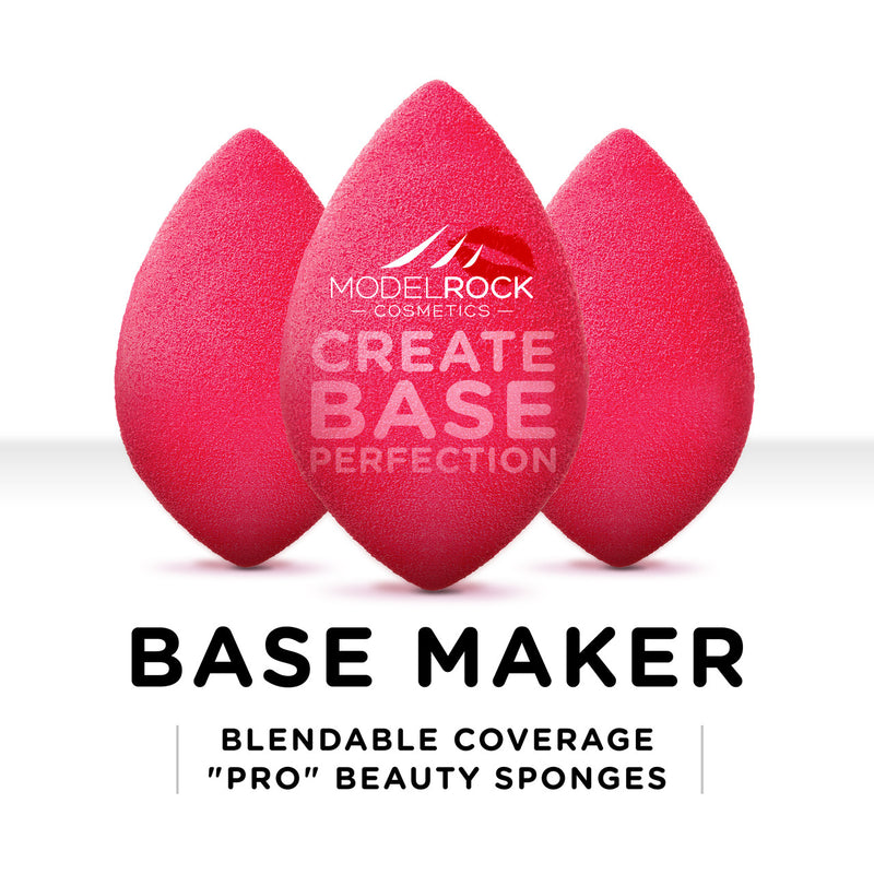 Base Maker Blendable Coverage Pro Olive Beauty Sponge 3 Pack - CULT COSMETICA