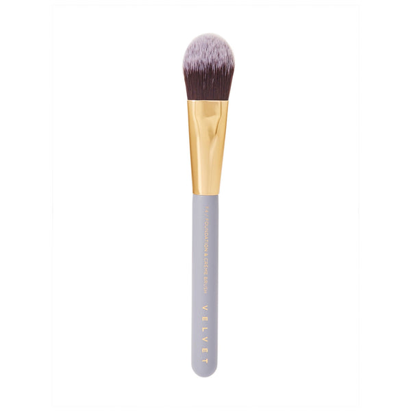 Velvet Concepts F4 Foundation & Crème Brush - CULT COSMETICA