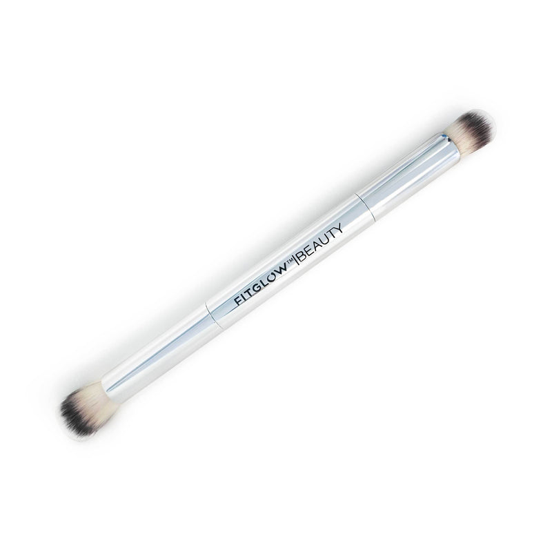 Fitglow Vegan Teddy Illuminate + Shape Brush - CULT COSMETICA