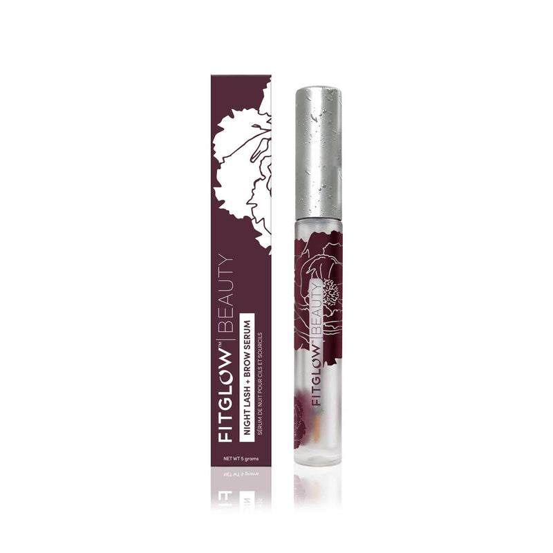 FITGLOW NIGHT LASH + BROW SERUM