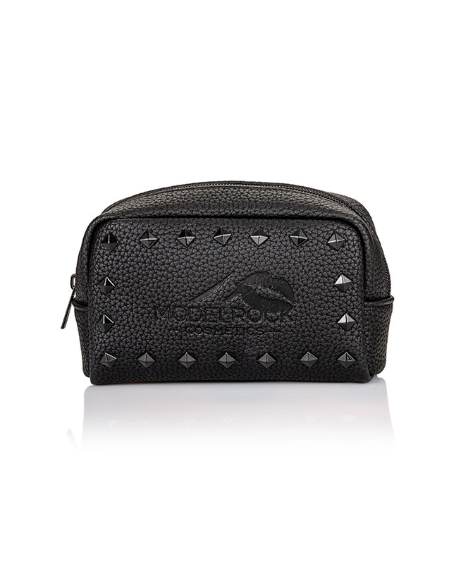 Modelrock Vegan Faux Leather Makeup Bag - Small - CULT COSMETICA