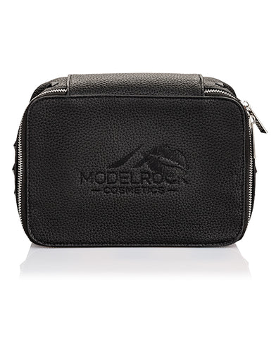 MODELROCK VEGAN Faux Leather Makeup Bag - Large