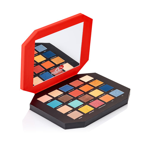 MODELROCK ROCK CHIC - Eyeshadow Palette - VOLUME 1
