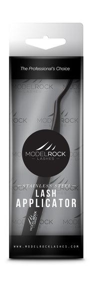 Modelrock False eyelash Applicator - Black Stainless Steel
