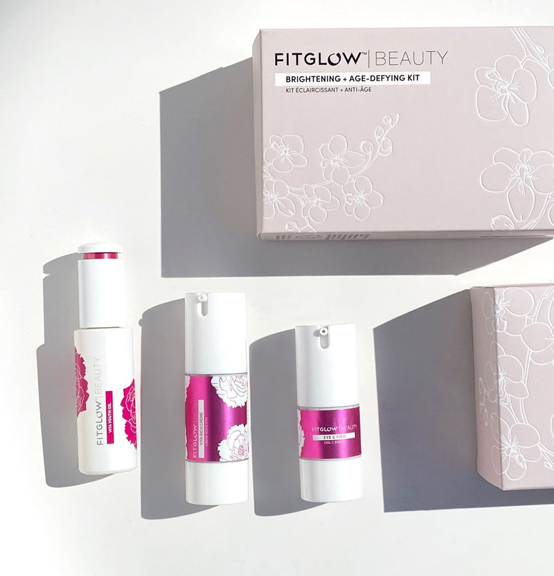 FITGLOW BRIGHTENING + AGE-DEYING KIT