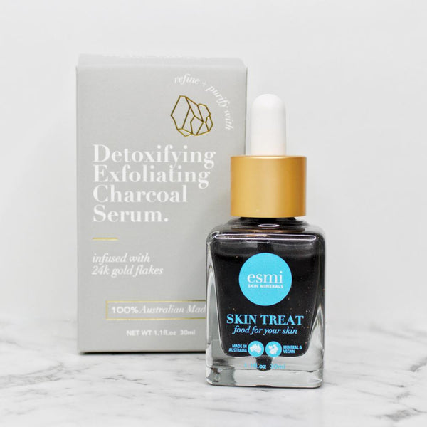 Esmi Detoxifying Exfoliating Charcoal Serum - CULT COSMETICA