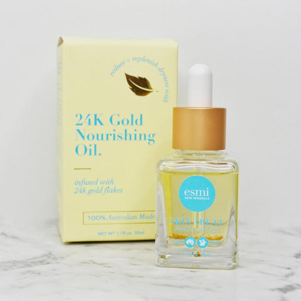 Esmi 24K Gold Nourishing Oil - CULT COSMETICA