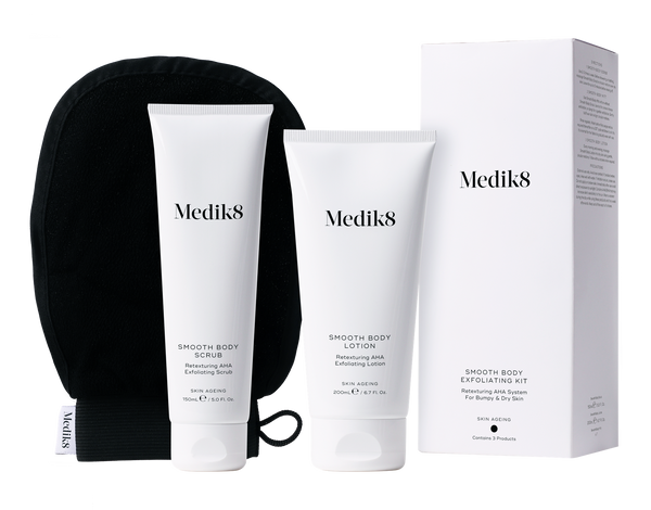 Medik8 Smooth Body Exfolitating Kit - Retexturing AHA