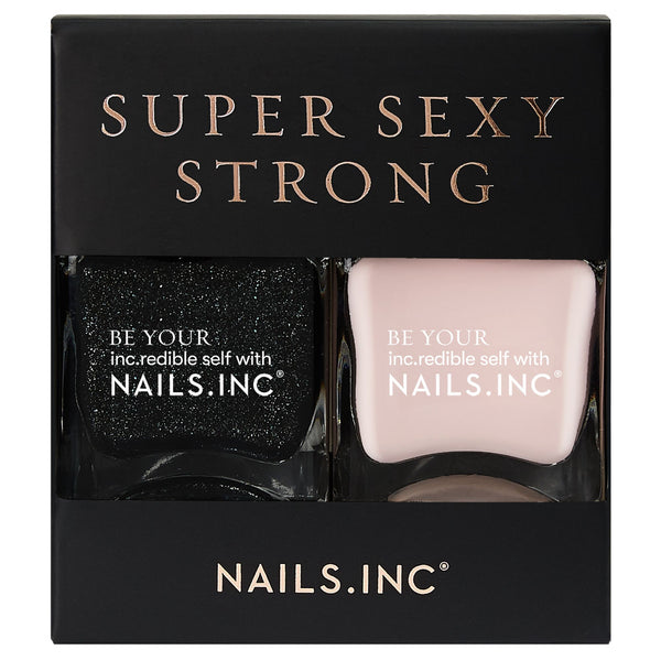 Nails Inc - Super Sexy Strong DUO
