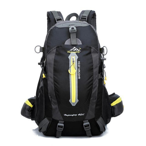 Kolation backpack Black 40L Waterproof Trail Backpack