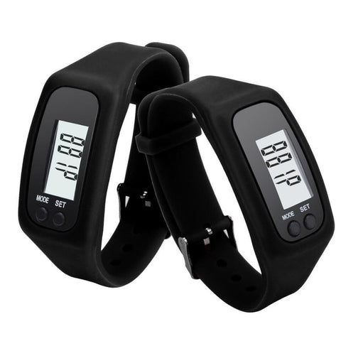 Kolation Black Digital Heart Rate Monitor/Pedometer