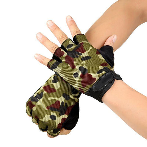 Kolation gloves Anti-Slip Half-Finger Gloves