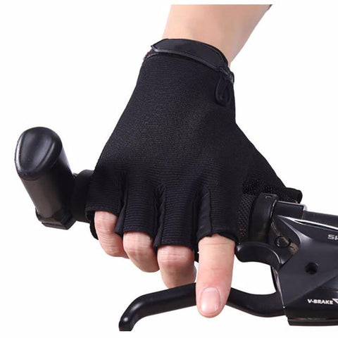 Kolation gloves Black / L Anti-Slip Half-Finger Gloves