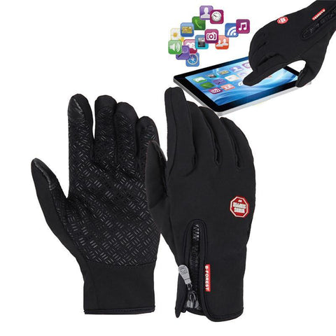 Kolation gloves Black / S Waterproof Touchscreen Gloves