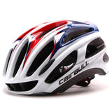 Kolation helmet Red Blue Ultralight Bicycle Helmet
