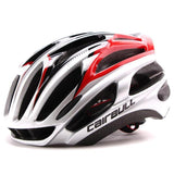 Kolation helmet Silver Red Ultralight Bicycle Helmet