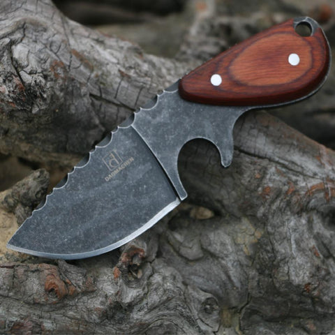 Kolation knife Stone Wash Fixed Blade Knife