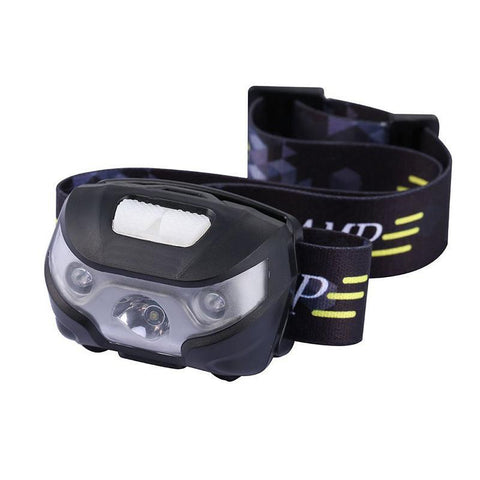 Kolation light USB Rechargeable LED Headlamp w/ Motion Sensor