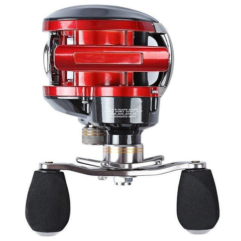 Kolation reel red / RIGHT LMA200 Double Brake Baitcasting Reel 11BB