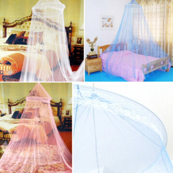 Elegant Round Lace Insect - Bed Canopy (3 colors available)