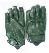 green summer gloves