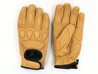 Yellow Cafe Racer gloves