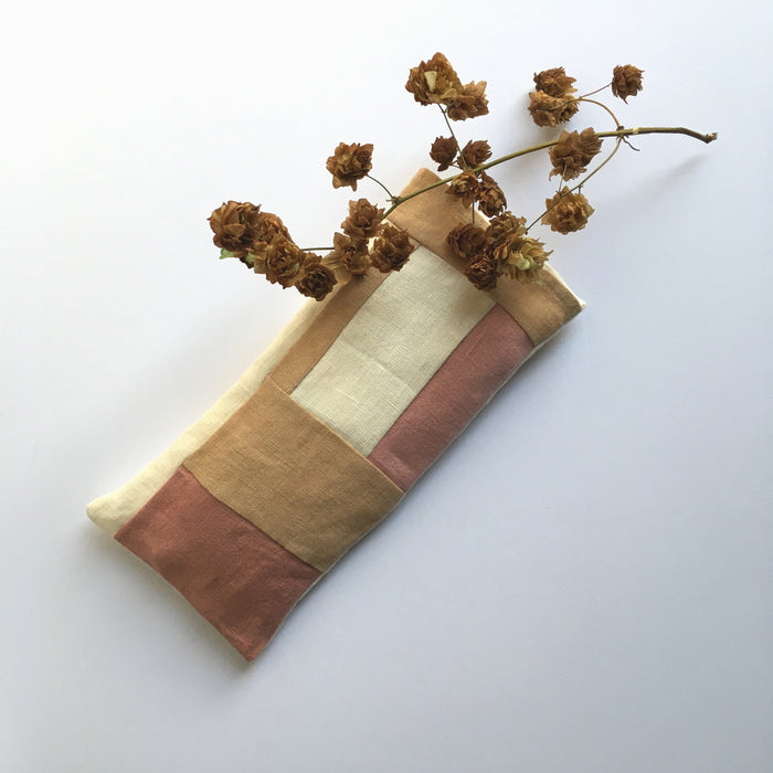 HEMP RELAXATION EYE PILLOW - Cinnamon & rose