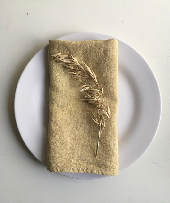 From kitchen to cloth. Pomegranate fine 100% hemp napkins